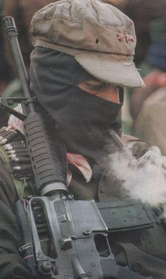 MARCOS マルコス副司令官(まるこすふくしれいかん、スペイン語:Subcomandante Insurgente Marcos、別名:Delegado Cero、生年不詳)は、メキシコの反体制運動サパティスタ民族解放軍の実質的リーダー。
