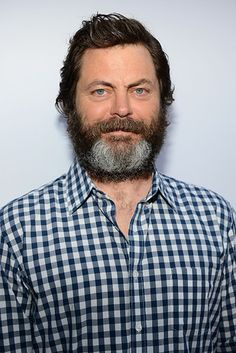 Nick Offerman | Proof That Beards Can Totally Change Your Face