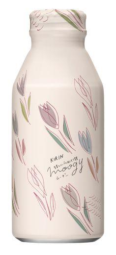 生姜とハーブのぬくもり麦茶 moogy 「春風ふいたら」パッケージデザイン(Spring collection 2018)