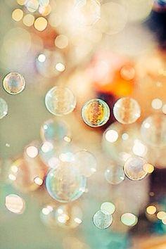 Bokeh bubbles.
