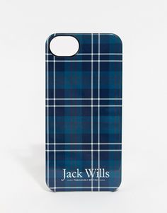 Jack Wills – Hülle für iPhone 5 mit Schottenkaros