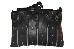 Imagine accesorios Bolso de piel negro calaveras 77,99 €