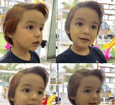 Here is latest and cute Short Haircuts for Little Girls. Guide to Choosing the Best Haircut and Hairstyles for Your Kid. The most unique short haircuts. Little Girls Pixie Haircuts, Cool Hairstyles For Girls, Girls Short Haircuts, Cute Short Haircuts, Bob Hairstyles With Bangs, Side Swept Hairstyles, Layered Bob Hairstyles, Kid Hairstyles, Girl Short Hair
