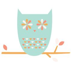 Illustration | A Hoot A Day, October 20th by Jen Peters #owl
