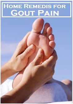 Home Remedies for #Gout Pain