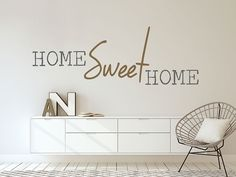 Wandtattoo Modernes home sweet home Photo Wallpaper, Cool Wallpaper, Wallpaper Murals, Home Sweet Home Images, Wall Tattoo, Home Projects, Home Art, Wall Stickers, Halle