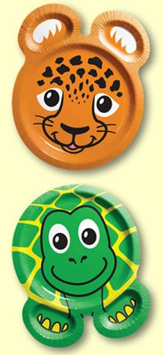 "My 9 yo specifically requested zoo pals plates for ""Animal Week""!"