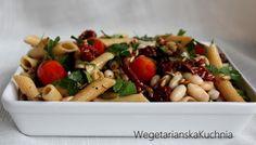 Lunchbox #1 - Penne z warzywami - Wegetariańska kuchnia