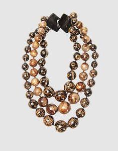 iris apfel | IRIS APFEL Collection - Necklaces Hook closure Resin