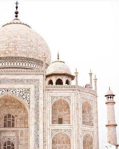 "nature-and-culture: ""Taj Mahal via the_boho_bungalow """