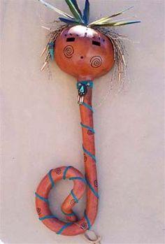 Kitty Riordan Gourd Art