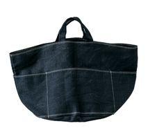 Tampico-almost daily Itoi newspaper Diy Tote Bag, Bag Patterns To Sew, Denim Bag, Fabric Bags, Big Bags, Shopper, Everyday Bag, Beautiful Bags, Handmade Bags