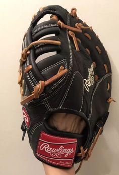 "972d7f5f2 RAWLINGS Renegade RFBR Right Handed First Base Baseball Glove Mitt 12.5""   Rawlings"