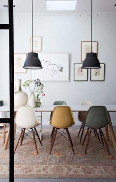 Hoe leuk zijn deze verschillende Eames klassiekers aan de eettafel?