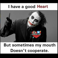 50 Funny Pictures For Today ( – Funnyfoto - Page 36 Heath Ledger Joker Quotes, Best Joker Quotes, Joker Heath, Badass Quotes, Best Quotes, Joker Qoutes, Joker Wallpapers, Dark Quotes, Joker And Harley