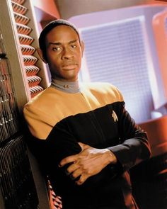 Tuvok, played by Tim Russ.
