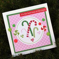 10 Here Comes Santa Claus - Doodlebug Christmas Cards