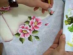Regras da Casa - Pintura em Tecido - Rosas Silvestres