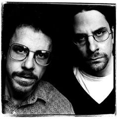 Coen Brothers - Academy Award winning American film directors, screenwriters, producers, and editors. Photo by Steve Pike, 1996