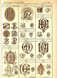 this site has many pages of monograms, check it out.