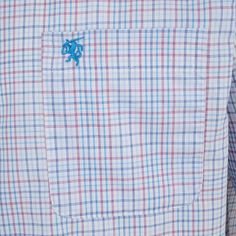 Carson Small Multi Check Short Sleeve Shirt by Carson