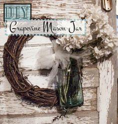 DIY Grapevine Mason