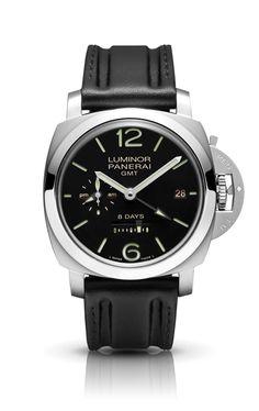 Luminor 1950 8 Days GMT PAM00233 - Collection 8 Days GMT - Watches Officine Panerai