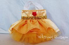 Belle Princess Tote Bag by WhitneyBoutique on Etsy, $8.00