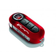 Fiat 500L Key Covers - Red and Pastel Black Twin Pack - Fiat 500L Key Covers - Fiat 500L Accessories