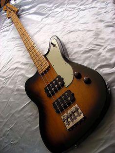 Fender reverse Jaguar Bass