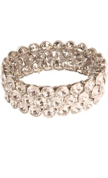stretch cuff crystal bracelet-the perfect accessory