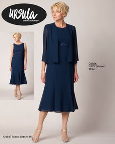 Ursula of Switzerland Special Occasion fashion, Mother of the Bride Dresses and Evening wear for the petite, missy and plus sized woman.