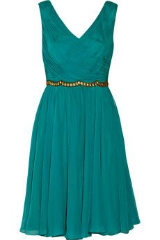 Notte by Marchesa Embellished silk-chiffon dress | THE OUTNET   i wish it wasn't so expensive :(