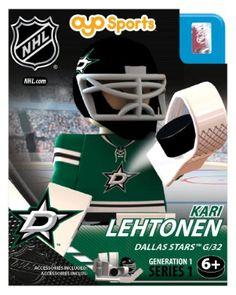 OYO Sports | NHL® Generation 1 OYO minifigures | Dallas Stars™ | Jordie Benn