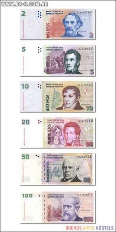 Monedas y billetes de Argentina | Artículos sobre Buenos Aires | Buenos Aires Hostels Costa Rica, Money Bank, Elder Scrolls, Autocad, Kids Learning, Ephemera, Concept Art, Nostalgia, History