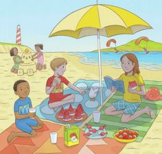 beach | Representing leading artists who produce children's and decorative work to commission or license. | Advocate-Art