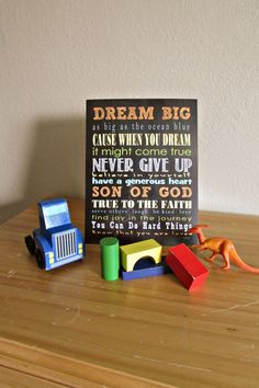 Add a splash of color and style with these inspirational subway art prints that feature words of wisdom to live by! With 8 colors to choose from, you can't go wrong! These are great for your child's bedroom and also make a fun and unique gift for holidays, birthdays, and special occasions such as baptisms or graduations.