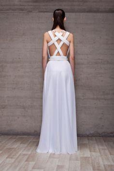 White Dress from Pol dsgn White Dress, Formal Dresses, Womens Fashion, Fashion Design, Spain, White Gowns, Night, Dresses For Formal, Sevilla Spain