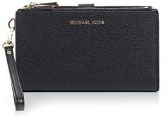 MICHAEL Michael Kors Adele Double Zipped Wristlet Continental Wallet