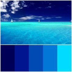 Ocean Blue Palette