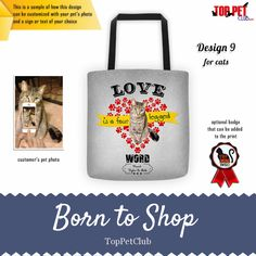 Four Legged, Go Shopping, Cat Love, Your Pet, Dog Lovers, Reusable Tote Bags, Check, Products, Gadget