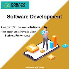Coracc Technologies create bespoke, innovative and user friendly Software. At Coracc Technologies, we follow SDLC steps which consist of details planning how to maintain, develop and deploy software. Business Performance, Software Development, Bespoke, Innovation, Technology, How To Plan, Create, Taylormade, Tech