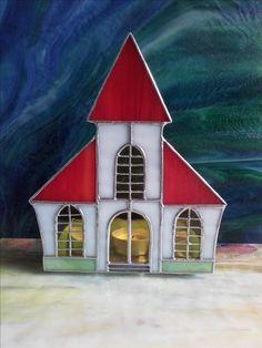 Windlicht - Kirche