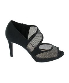 Look what I found on #zulily! Black Terina Pump by impo #zulilyfinds