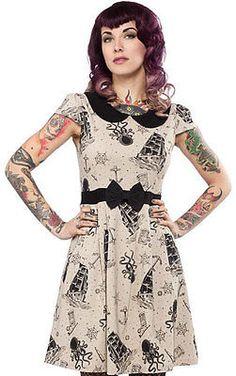 DRESS | Lizzie - Kraken's Revenge  clothing alternative gothic punk pinup