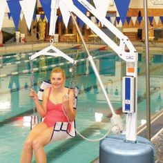 Lift Sling Seat for Revolution #Pool Lift, Available Only at Activeforever.com with best price $568.03 #Poollifts