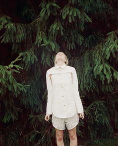 #girl #trees #nature #fashion