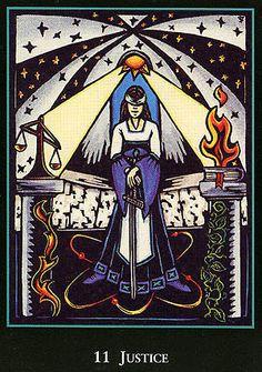 Justice - World Spirit Tarot