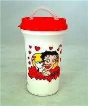 Betty Boop Travel Cup w Straw & Lid <<< I have 2 of these, one is red and other is black