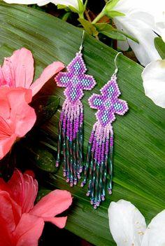 Native American Brick Stitch Patterns | Bead Jewelry for Sale